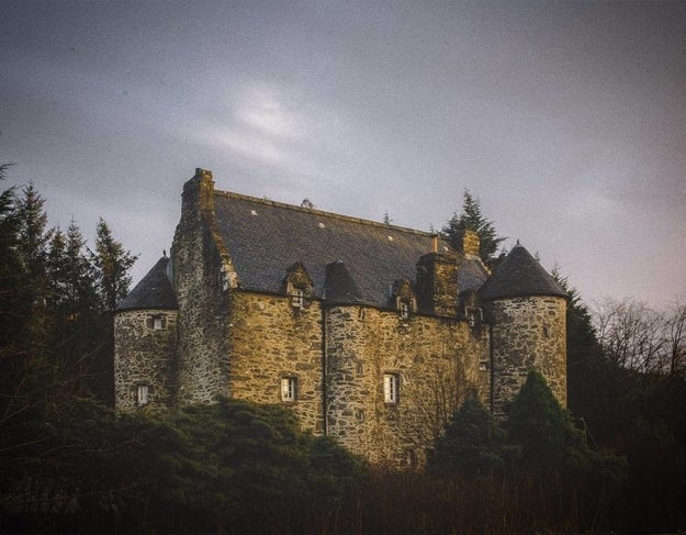 This atmospheric historical castle  in Argyll and Bute.