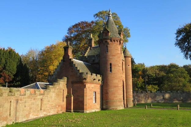 The Gatehouse to Ayton Castle in Berwickshire.