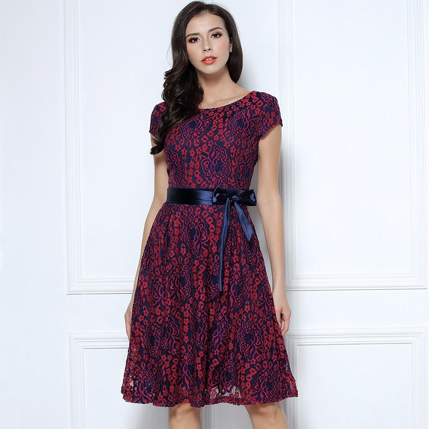 A Colorful Lace Dress So Youu0027re More Memorable Than The Speeches.