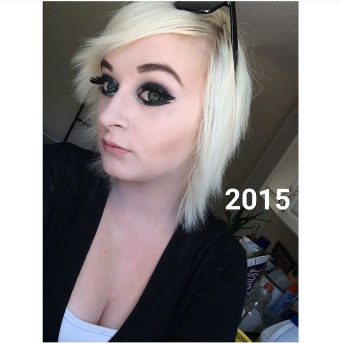 As someone with naturally black hair, my roots would grow in so dark that I'd have to bleach them about once a month. And because I was young and stupid (and broke), I always did it myself using boxed bleach kits rather than taking the smart, safer route and going to a salon. I did this for a year straight...until I realized my hair was dead. Like, literally dead: I would brush my hair and clumps would fall out. It got to the point where cutting all of my hair off was the only option to counter the damage, and I was so self-conscious about having a pixie cut (I'd always had longer hair!) that I tried to find ways to disguise it while it grew. I had extensions for a while, but that became too expensive to maintain, and the clips were often visible since my hair was so short. So I decided to just let it nature take its course and deal with the slow growth.