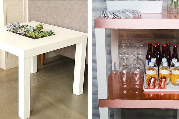 so kannst du einen lack ikea tisch einfach und kreativ umgestalten. Black Bedroom Furniture Sets. Home Design Ideas