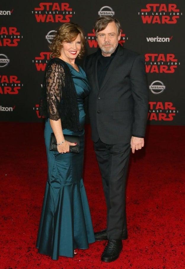 Mark Hamill and Marilou Hamill