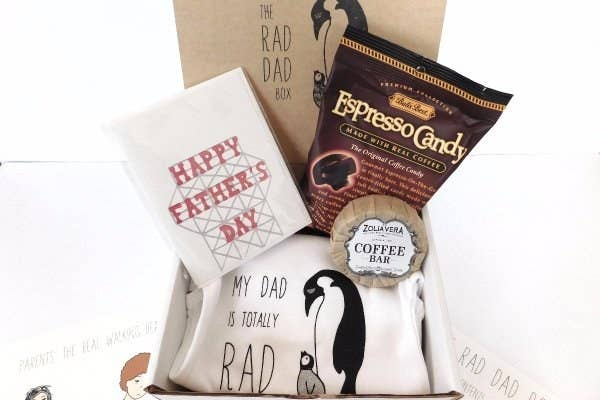 A Subscription Box To The Rad Dad For Any New Fathers Out There Who Would Love Monthly Gift They Can Share With Their Young Ones