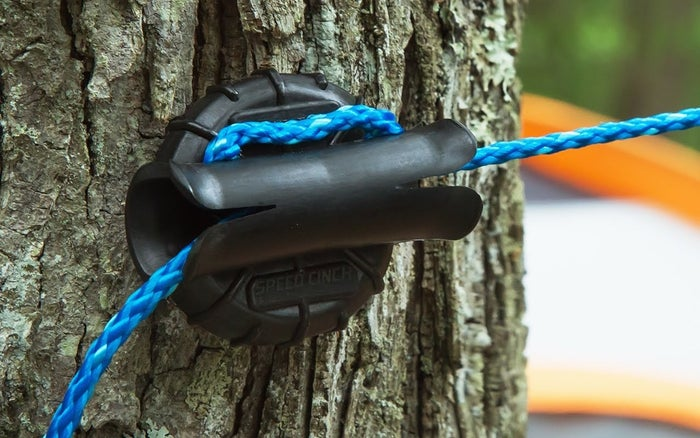Founder Jim Bainbridge is a U.S. veteran and first created this knot-free solution to keep hunting blinds up. Get it from The Grommet for $7.95 (also available as a ground stake).