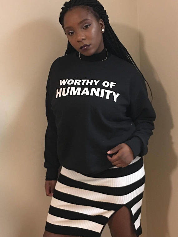 """Everybody else is getting so bold, you know? Like we have Klan resurgences, Nazis becoming more prominent,"" Olatiwa said. ""We're on the other side and people keep trying to just tell us to sit down and shut up, so I felt like it was time to do something more bold."""