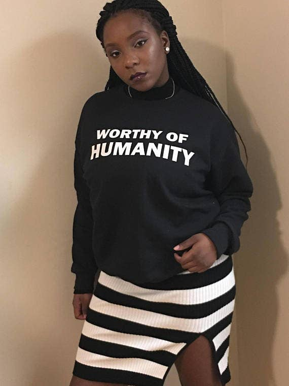 This Student Launched A Line Of Pro-Black Sweatshirts And They ...