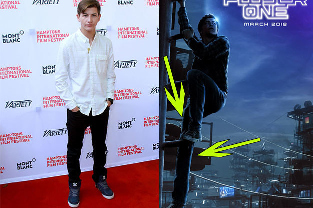 People Are Speculating That Tye Sheridan's Leg On The