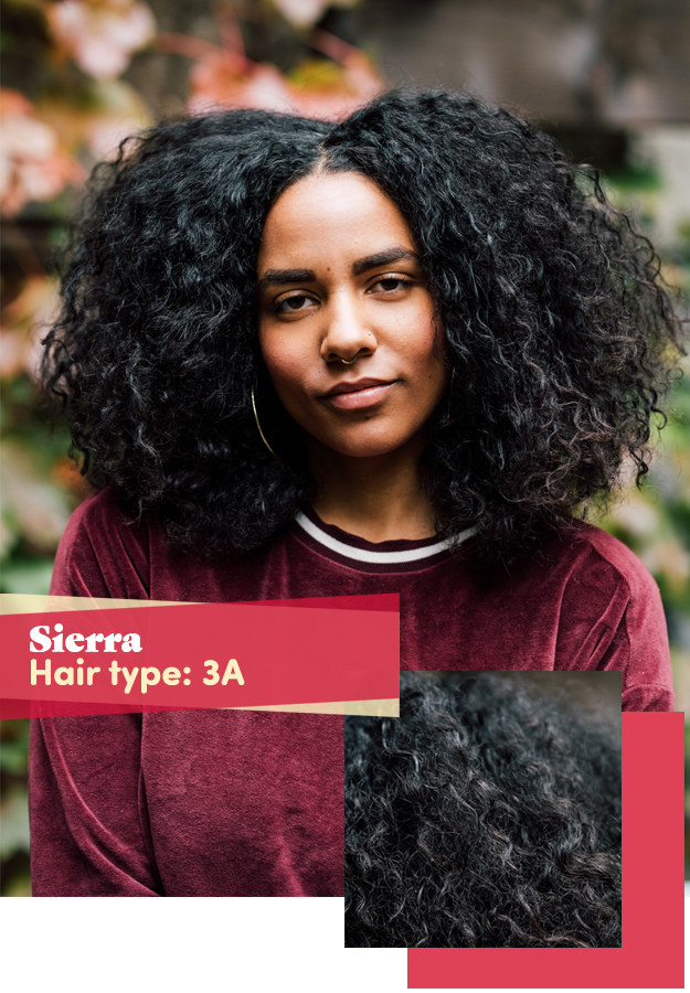 First up was Sierra. She was mostly concerned with avoiding split ends and double-strand knots, preserving her natural curl pattern in humid climates, and retaining length.