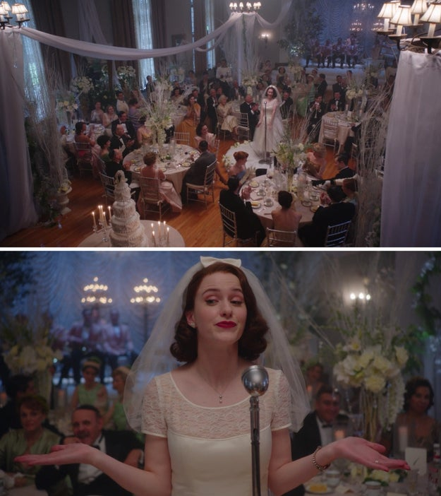 ...but it's comforting to know that somewhere in the Sherman-Palladino universe, Emily Gilmore's dream wedding did take place.