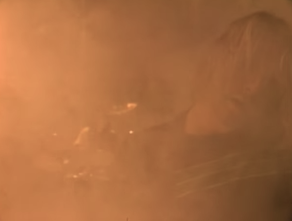 a sepia tone screenshot from the video