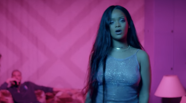 rihanna in the music video