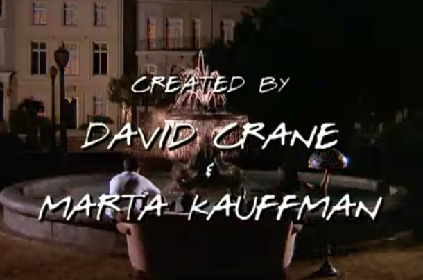 the credits from friends