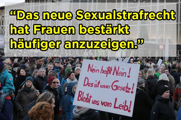 """Ein Jahr """"Nein heißt Nein"""" - was das neue Sexualstrafrecht geändert hat"""