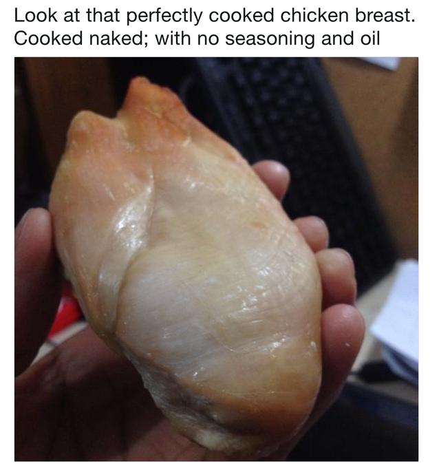 That looks like an udder. AN UDDER!!