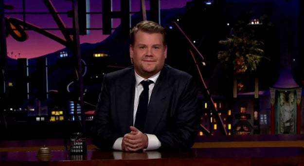 We're all familiar with The Late Late Show host and comedian extraordinaire James Corden, correct?