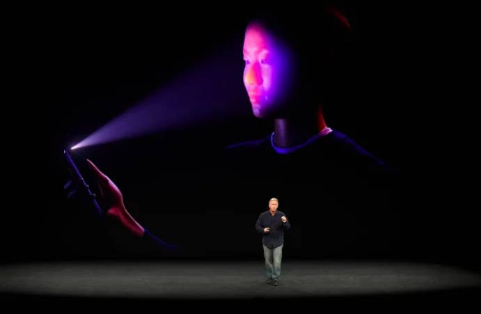 Welcome to the future, may I scan your face? Face ID launched for the iPhone X — you can unlock your phone just by looking at it. People might have had some qualms about it, but plenty went ahead and bought the phone and are happily using it. Apple says it's more secure than the finger Touch ID. And until true Face/Off technology is perfected we're ok. Oh wait...