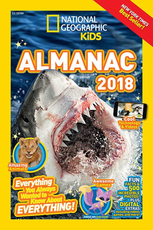 """Promising review: """"Love these almanacs for my nature/animal/science loving 8-year-old kid! We have several of them and they are all great resources for learning and keep him entertained for hours. Highly recommend."""" —Susannah H.Get it from Amazon for $11.99+, Barnes & Noble for $7.93+, or a local bookseller through IndieBound here."""