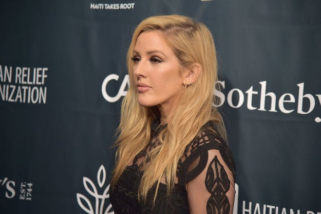 Ellie Goulding wrote about her experience with anxiety and panic attacks when her career took off.