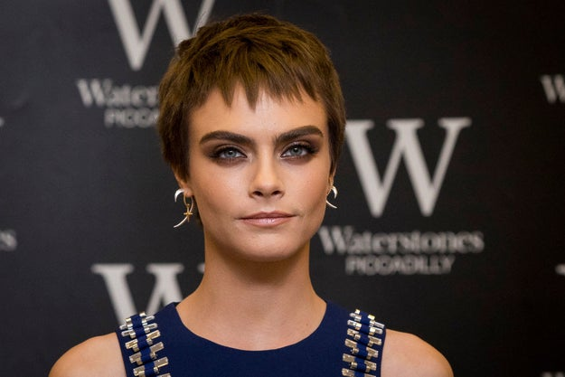 Cara Delevingne opened up about how she used to keep her depression a secret.