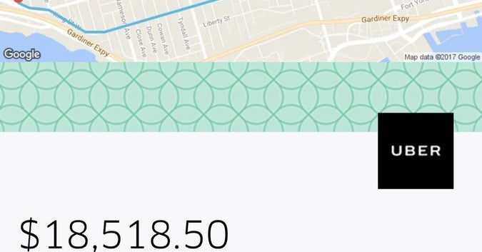This Guy Was Charged $18,500 For An Uber