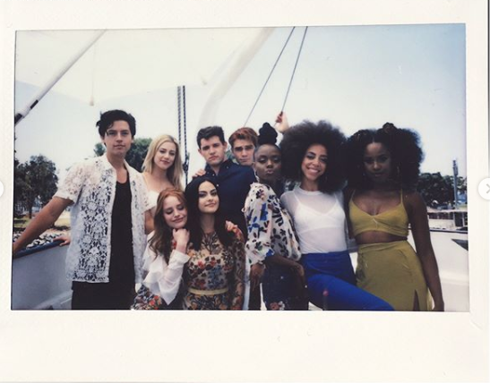 When the whole squad looked amazing in this polaroid.