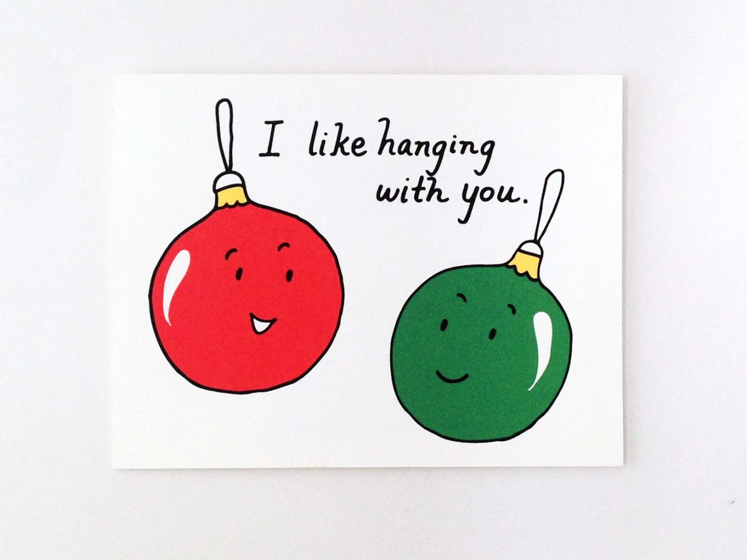 This Christmas Card Because Its Honestly Too Early To Buy Them A Present