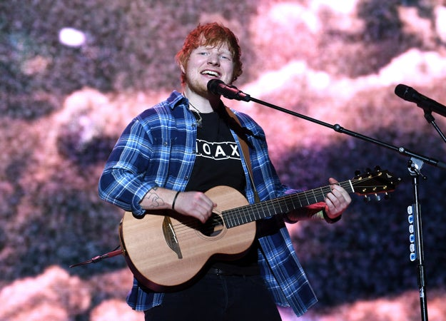 And her BFF Ed Sheeran was also on the line-up.