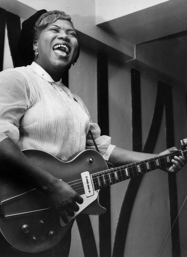 Singer-songwriter Sister Rosetta Tharpe is also being honored with the Award for Early Influence.