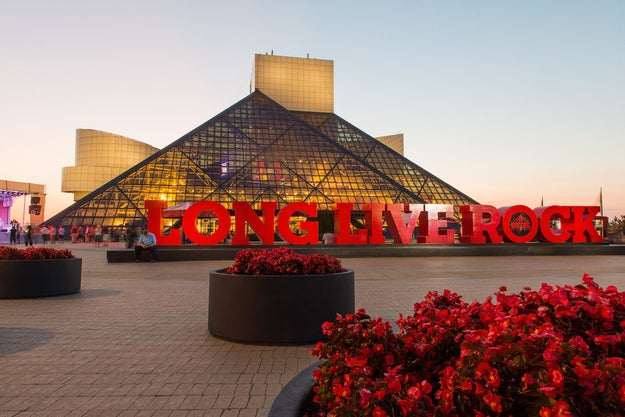 The 33rd annual Rock and Roll Hall of Fame induction ceremony will take place at the Cleveland, Ohio museum on April 14.