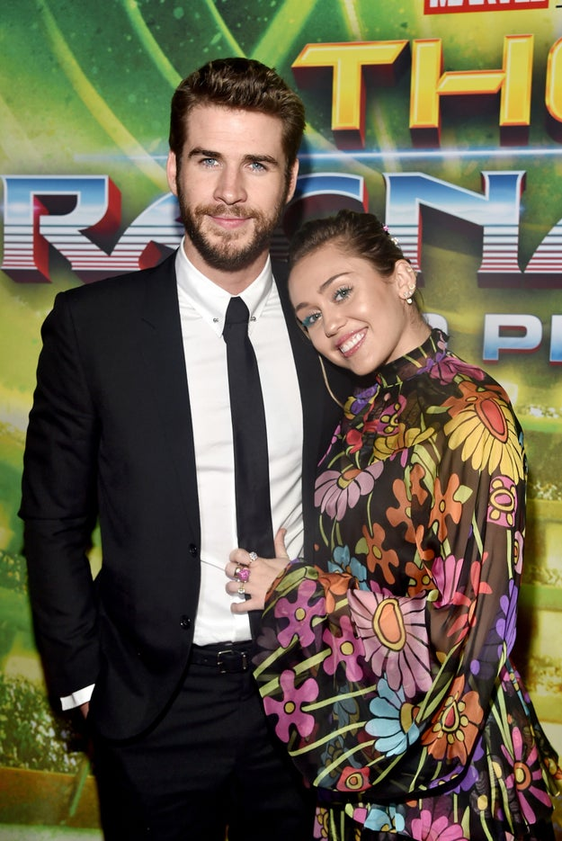 And, of course, when they made their first (and only) red carpet appearance together at the premiere of Thor: Ragnarok.