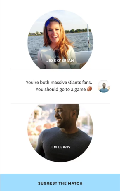 Hinge created a matchmaking app, and it means that anyone can download it and see which of their Facebook friends are using Hinge.