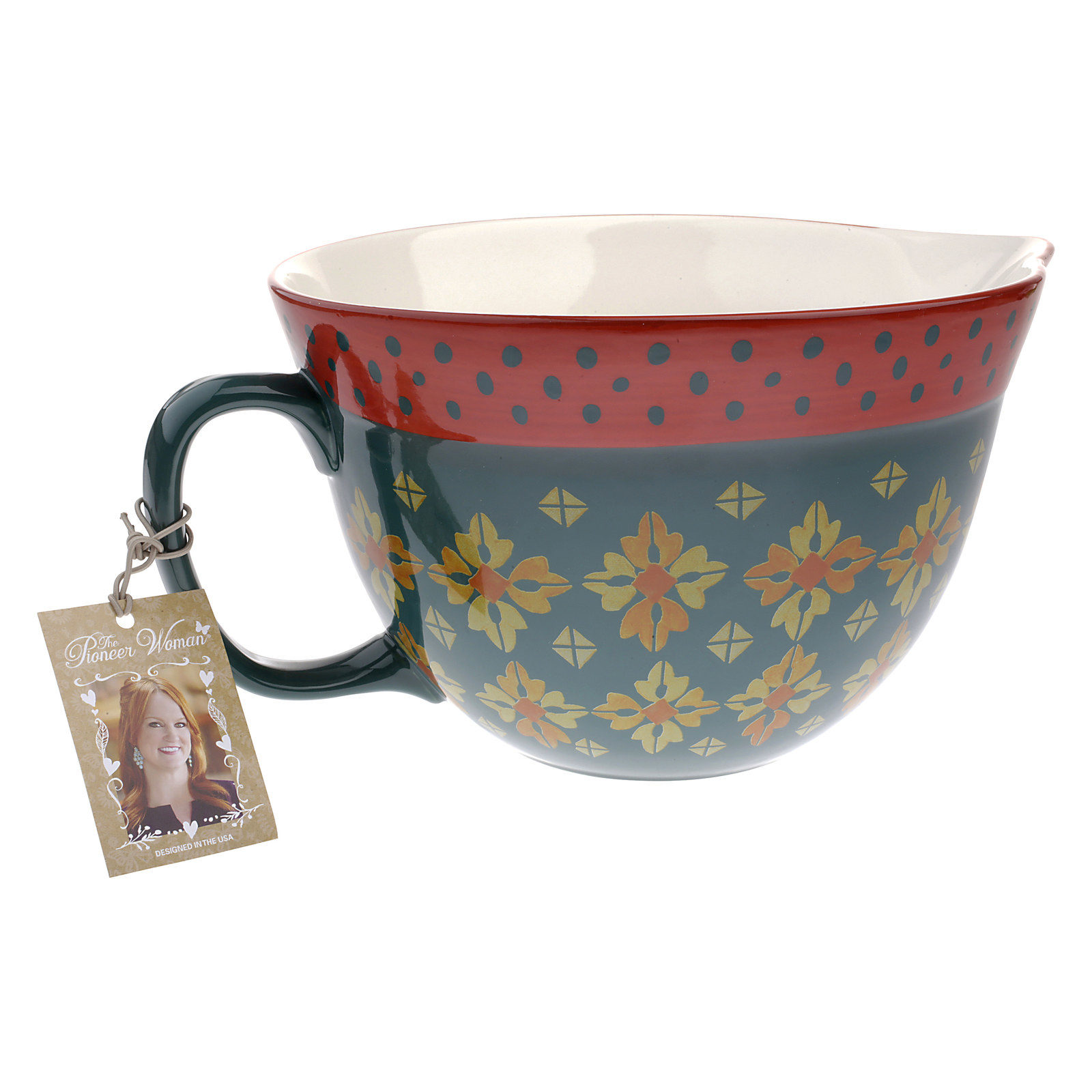 Measuring Cup NEW The Pioneer Woman Winter Bouquet  4-Cup 1-Qt.