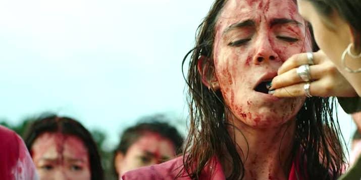 Raw fue presentada y aclamada en Cannes en 2016, pero no fue hasta este año cuando se estrenó en cines y en Netflix. Es una película franco-belga que cuenta la historia de una joven vegana quien entra a la universidad para formarse como veterinaria... lo que pasa luego es lo suficientemente retorcido como para que quedes sin querer comer carne por un buen rato. Rotten Tomatoes: 90%
