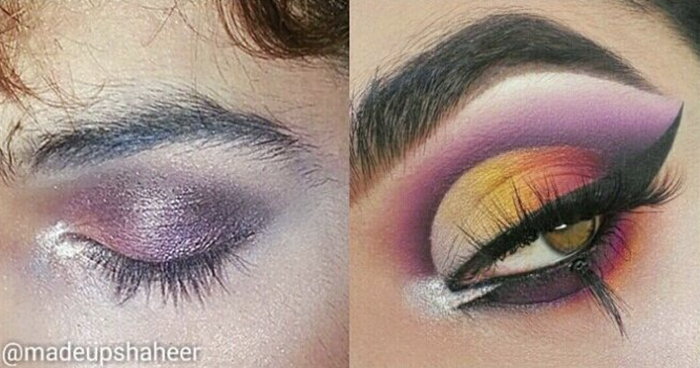 """""""I saw my bb @charlesmakeup post a progress post and it made me want to post one too. I've worked very hard to be where I am with my makeup skills and I hope to progress even further by next year!!!"""" —@madeupshaheer"""