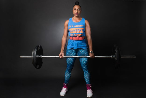 """""""All the fears and anxiety I felt towards my mother's condition disappeared each time I raised and lowered the barbell."""""""