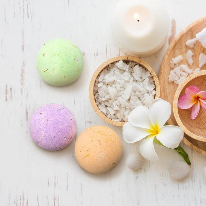 21 products on amazon thatll make perfect gifts a set of six vegan bath bombs made with dried flowers and essential oils for anyone who needs to take their stress level down a notch or twenty negle