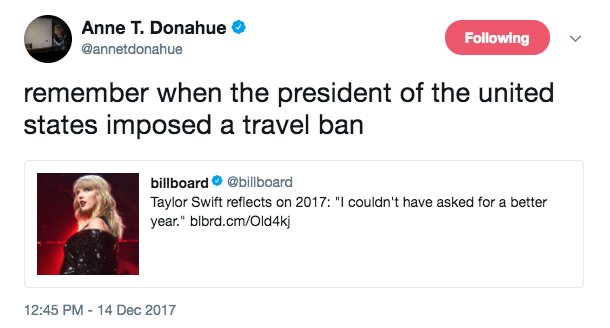 Remember the travel ban?