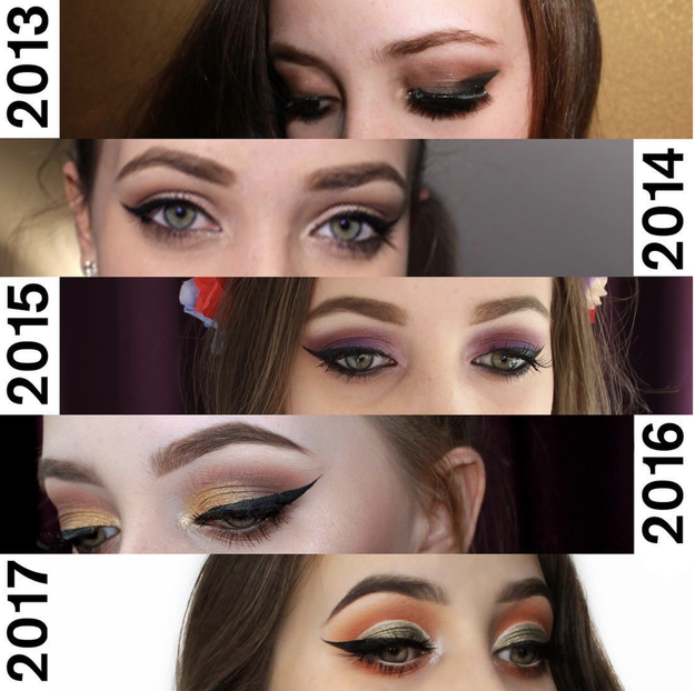 ...And this person who's on track to have the best cat eye of all time by 2020.