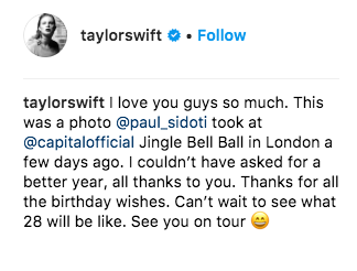 We can all agree that it's been A Year. So Taylor's comments were met with...mixed responses.