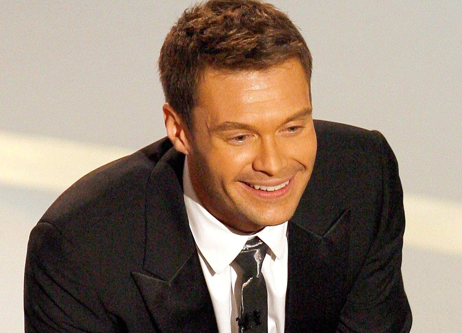 Ryan Seacrest hosted the Emmys in 2007.