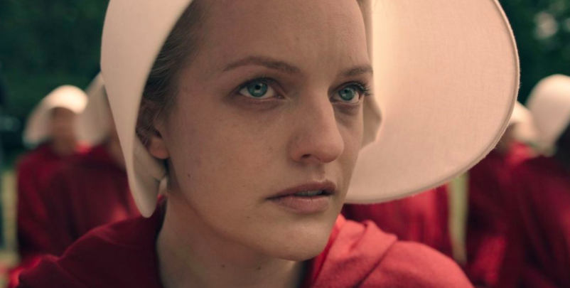 And was then introduced to Offred when  The Handmaid's Tale  premiered in 2017.