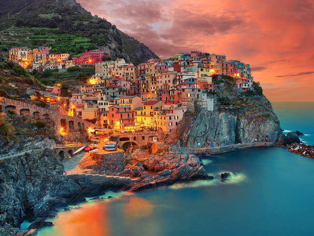 You should travel to Cinque Terre, Italy