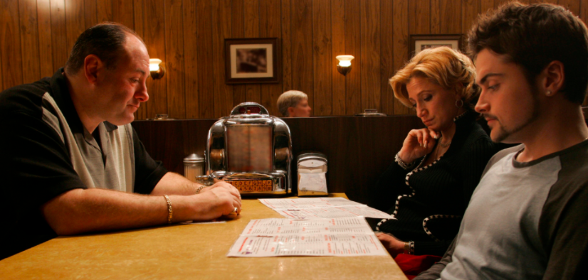 Everyone was left confused by  The Sopranos  series finale in 2007.