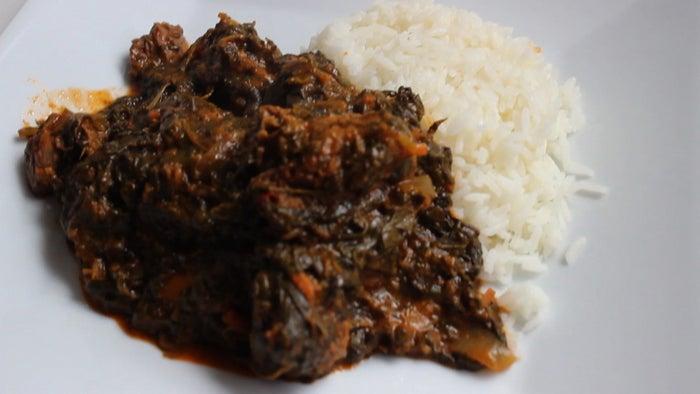 Recipe here: Lalo legume