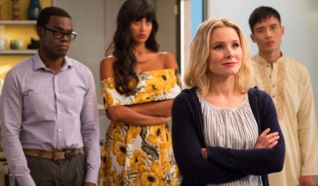 But she shone once again when The Good Place was renewed for a second season in 2017.