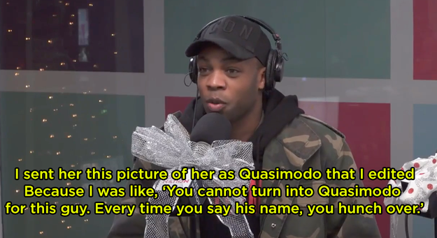 """Todrick, who stars in the """"Look What You Made Me Do"""" video, even sent Taylor a pic of her as Quasimodo, saying, """"You cannot turn into Quasimodo for this guy. Every time you say his name, you hunch over."""""""