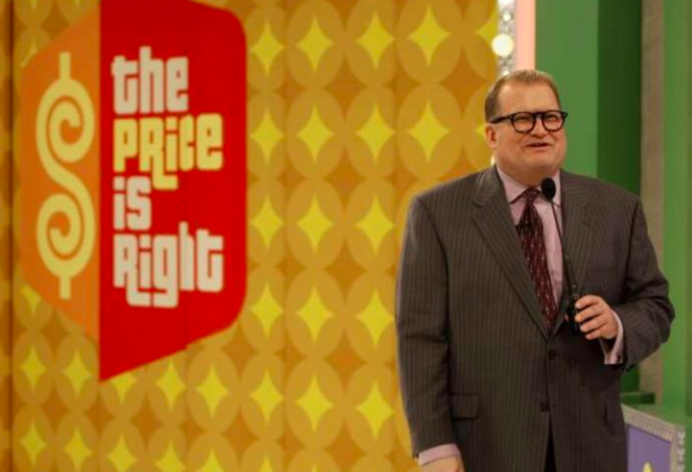 Drew Carey began hosting The Price is Right in 2007.