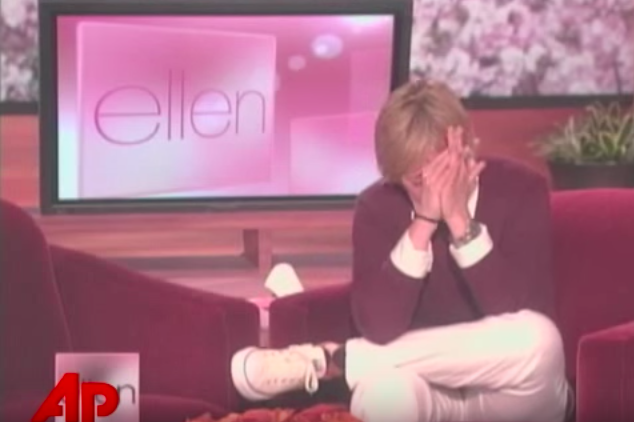 "Ellen's emotional ""Iggygate"" speech went viral in 2007."
