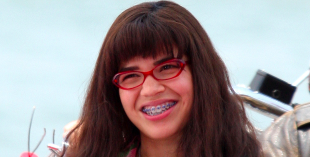 America Ferrera was shining as Ugly Betty in 2007.