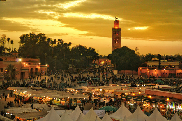 You should travel to Marrakech, Morocco